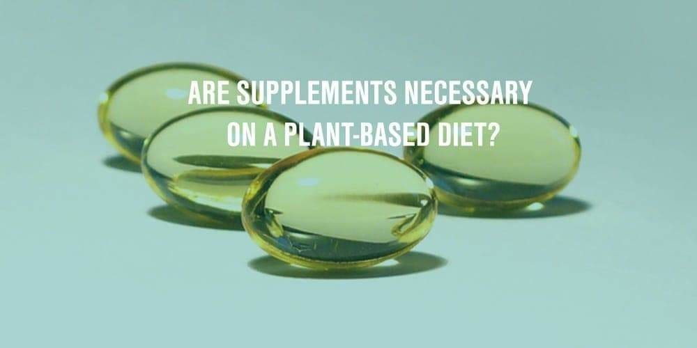 For a Plant-Based Diet, Do You Need Supplements?