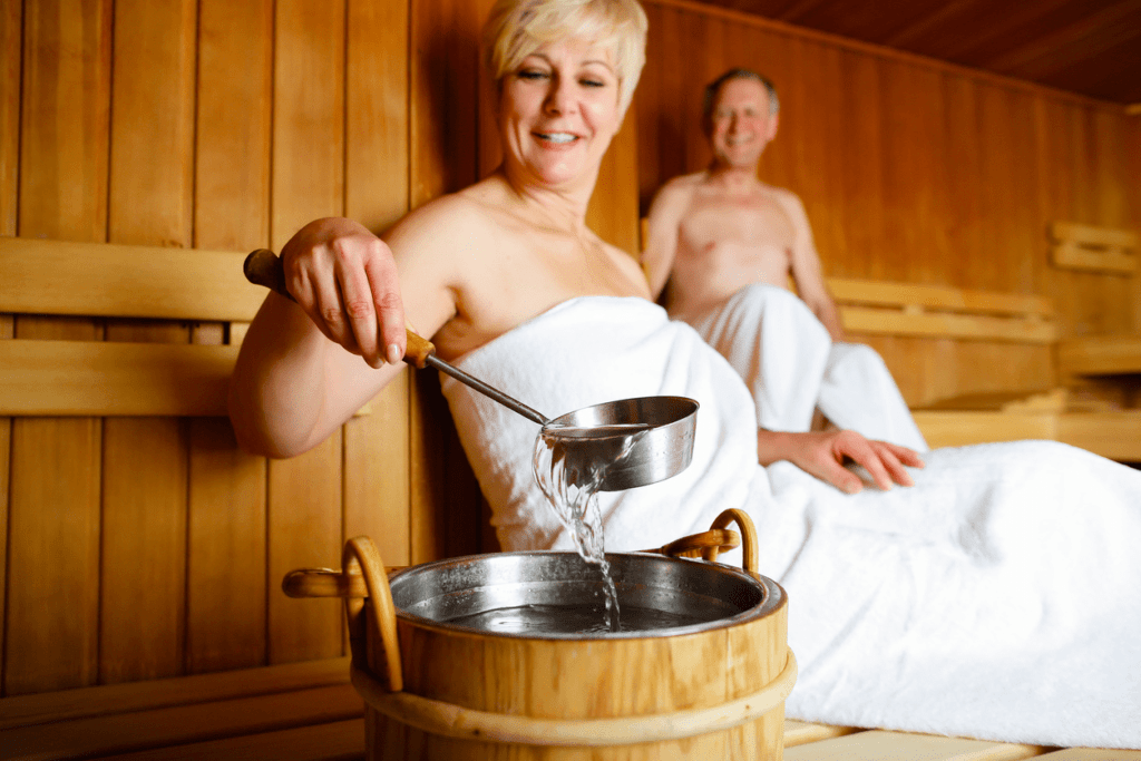 Heat, Hydrotherapy and Heart Health - sauna