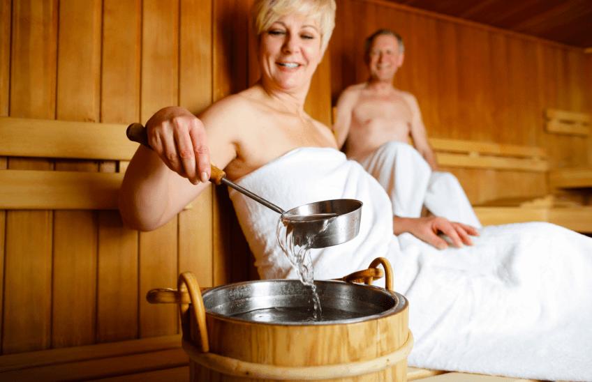 Heat, Hydrotherapy and Heart Health - sauna