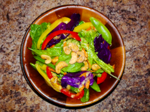 Thai Chopped Salad with Ginger Dressing