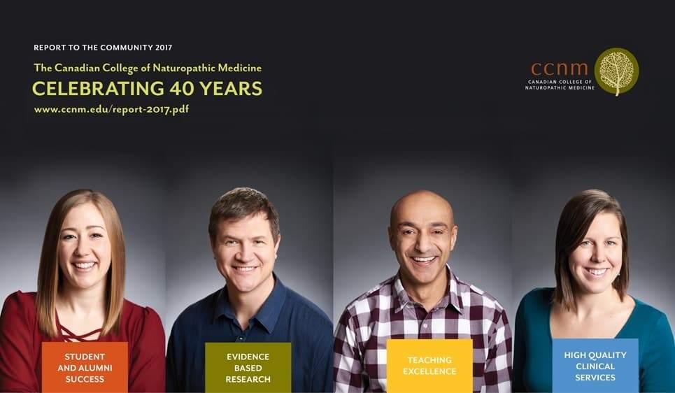 CCNM celebrating 40 years
