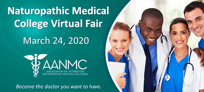 Naturopathic Medical College Virtual Fair   AANMC